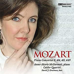 W.A. Mozart: Piano Concertos (chamber versions)