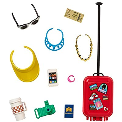 Barbie Fashion Sightseeing Accessory Set: Toys & Games