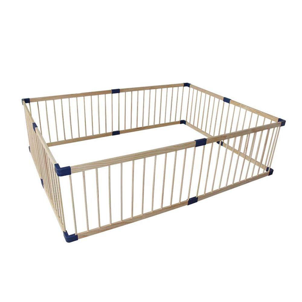 絶妙なデザイン YX SHOP® 子供の遊びフェンス、赤ちゃんの家庭の木製の安全のフェンス、屋内の赤ん坊の幼児のフェンスを這う** (サイズ さいず SHOP® B07JQNS9XD : 120x200cm) 120x200cm B07JQNS9XD, 大人気の:68a9867d --- a0267596.xsph.ru