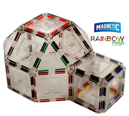 Rainbow piece Magnetic colored magnets
