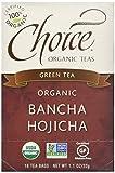 Cheap Choice Organic Bancha Hojicha Roasted Japanese Green Tea, 16 Count