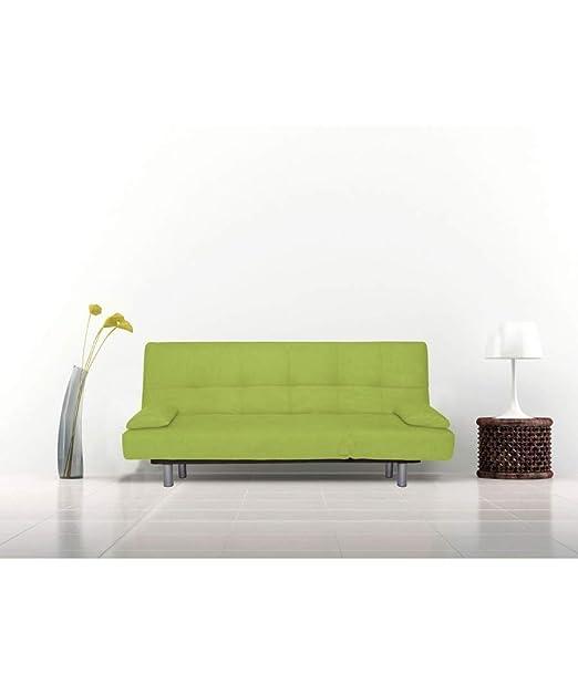 Befara Sofa Cama DESENFUNDABLE ONIROS Verde: Amazon.es: Hogar