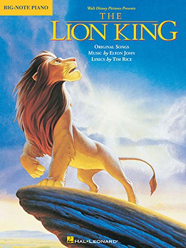 The Lion King Big-Note Piano Pvg