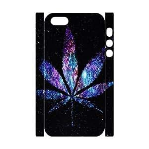 Galaxy Purple Unique Design 3D Cover Case for Iphone 5,5S,custom cover case ygtg597385
