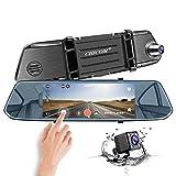 Mirror Dash Cam, CHICOM 7 Inch 1080P Full HD IPS