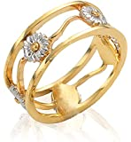 Clogau Gold 9ct Yellow and White Gold Daisy Ring