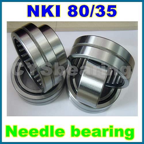 Fevas 80x110x35mm 8011035mm NKI80/35 Needle Bearing with Inner Ring ()