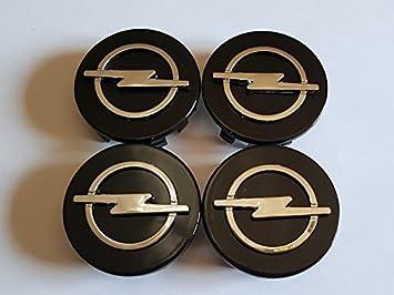 4 x tapones Tapacubos 58 mm Negro para tachuelas Círculos Aleación: Amazon.es: Coche y moto