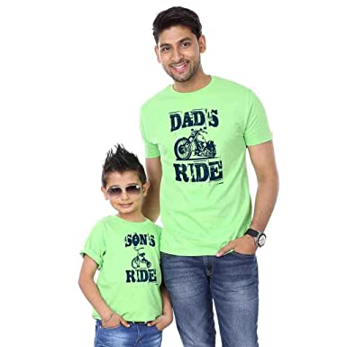 Bon Organik Bright Green Dads Sons Ride Father Son Best Family Matching  Father and Son. image 0. Personalized Family Tshirts for ... 24b465e0ecd2