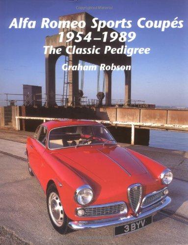 Alfa Romeo Sports Coupés 1954-1989 pdf