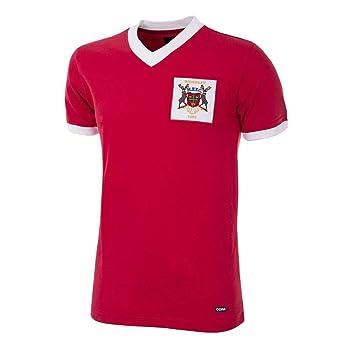 Nottingham Forest Copa Final 1959 Camisa de Fútbol Retro: Amazon.es: Deportes y aire libre