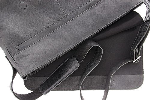 '' 15 Badolera Plevier Laptop Schwarz Schwarz schwarz Per Borsa Nera qPdfwO5f