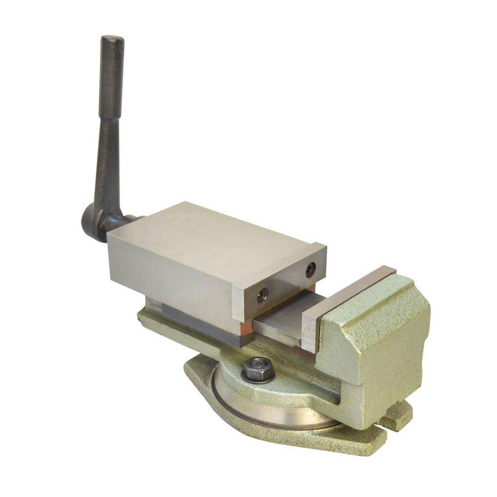 DBM IMPORTS 3'' Milling Lock Vise Precision Drilling Machine W/Swivel Base Bench Clamp