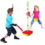 Mookie Classic Swingball Tetherball Set - Portable Tetherball