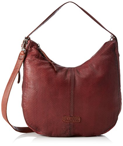 Liebeskind Berlin Chatsworth City - Bolsos totes Mujer Rojo (Gang Wine)