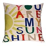 Clearance Pillowcase,Love Letter Pillow Cover Sofa Waist Throw Cushion Cover Home Decor (H)