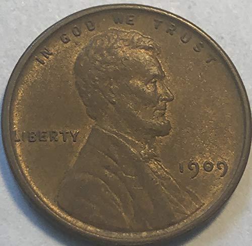 1909 P Lincoln ((RARE VDB Semi-Key Date)) Wheat Penny Cent ()
