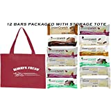 Power Crunch High Protein Energy Snack1.4-Ounce Bars (Pack of 12), Variety Pack of 7 Delicious Flavors And storage  Tote As Seen In Photo