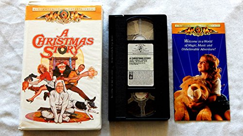 a christmas story vhs tape edition w original booklet m g m