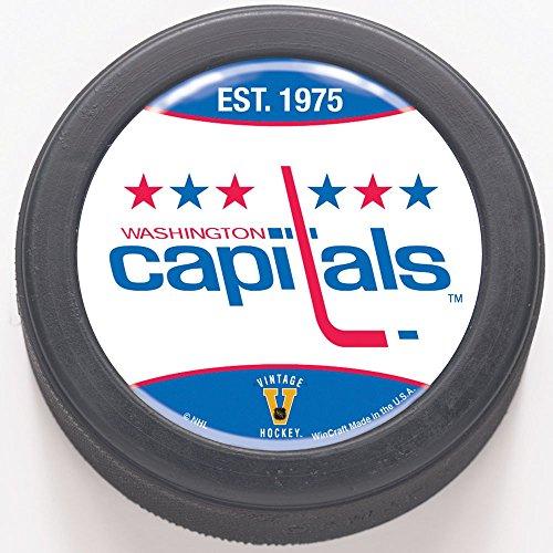 WinCraft NHL Washington Capitals 65806091 Packaged Domed Hockey (Nhl Team Hockey Pucks)