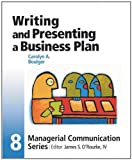 img - for Module 8: Writing and Presenting a Business Plan: 1st (First) Edition book / textbook / text book