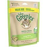 Feline Greenies Dental Cat Treats, Catnip Flavor, 5.5 Oz. Pack, Make Great Holiday Cat Treats