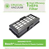 HEPA Filter for Bosch Formula Series Cleaners; Compare to Bosch Part No. BBZ152HFUC; Designed & Engineered by Think Crucial