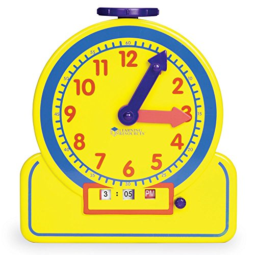 Learning Resources (LER2994) Primary Time Teacher Jr. 12 ()