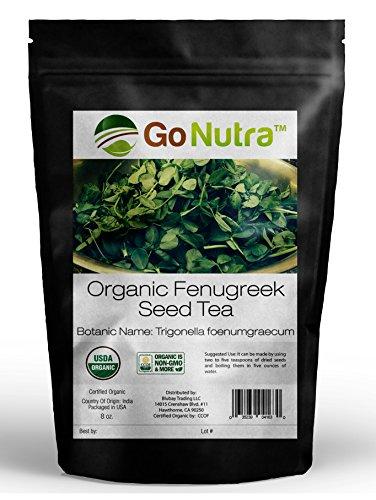 Fenugreek Seed Tea Organic 8 oz. - Fenugreek Seed Tea