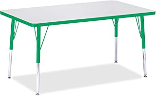 product image for Jonti-Craft Rectangular Activity Table - Adult (30 x 48 x 24-31 in. H/Green)
