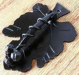 Agave Ironworks Grapevine Knocker Dark Bronze