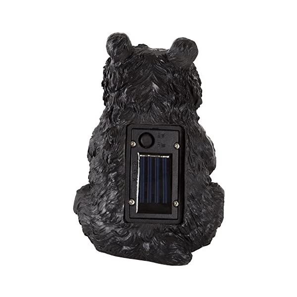 Yard Décor, Solar Outdoor LED Light and Battery Operated Statue for Garden, Patio, Lawn, and Yard by Pure Garden