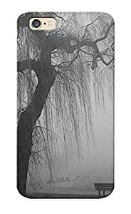 03328c539 Anti-scratch Case Cover Recalling Protective Quotes Bench Lonely Grayscale Lakes Case For iPhone 4 4s