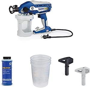 Graco TrueCoat 360 Paint Sprayer Kit with Pump Armor, Paint Bags and Tips