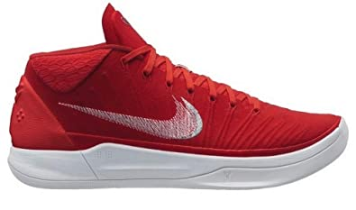 online store 5c05e 43aa7 Nike Men s Kobe Bryant A.D. Basketball Shoes Gym Red Silver White Size 11