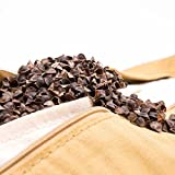 #DoYourYoga Rectangular Yoga Bolster with Organic Buckwheat Husk : 26.4' x 5.1' | 7LB – Supportive Breathing Asanas Meditation Yoga & Relaxation red »Paravati« (B)