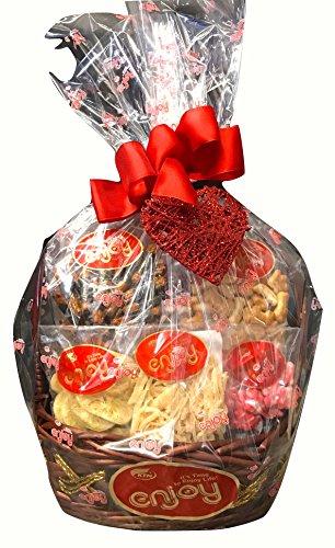 Enjoy Snacks Hawaiian Holiday Christmas Basket (Hawaiian Christmas Gift Baskets)