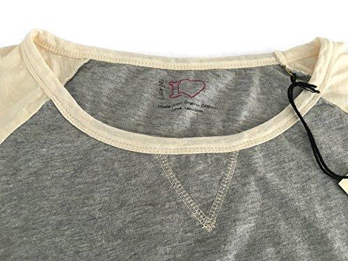 Ilove leon Lunga Vestibilità Manica Slim Cotone 100 T Shirt Donna wSqaWnBwP