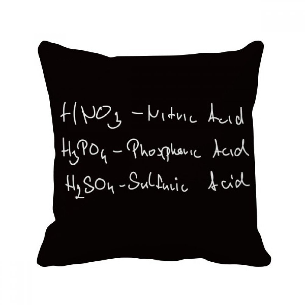 Amazon.com: DIYthinker Chemistry Kowledge Acid Throw Pillow ...