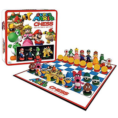 Toy   Board Game   Super Mario   Chess With Mini Figures  Nintendo