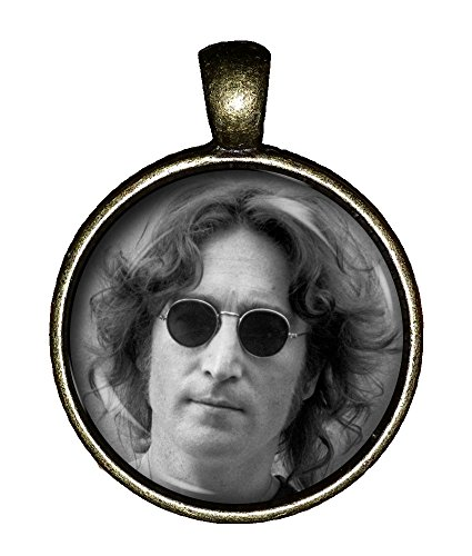 John Lennon Jewelry (John Lennon necklace Vintage Hottie The Beatles jewelry gift pendant charm Chaoticfashion)