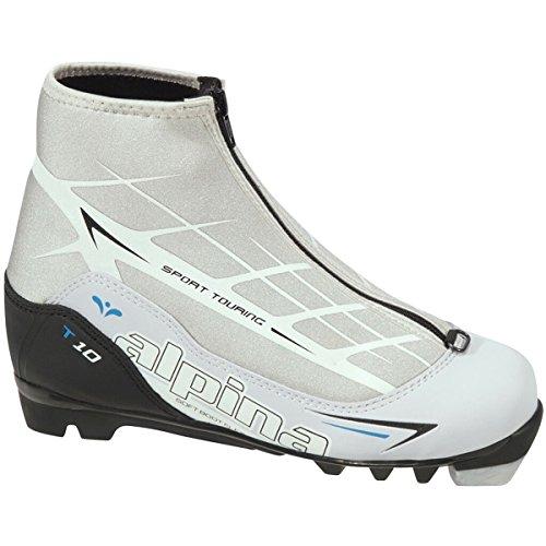 Alpina T10 Eve Touring Boot - Women's White/Black, 35.0