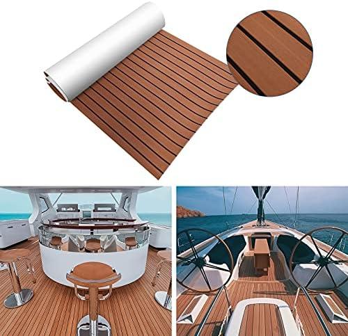braun//grau EBTOOLS Decking Bootsboden Bodenbelag aus Teak Eva Antirutschmatte f/ür Yachtb/öden Boote f/ür Yacht 70 x 190 cm grau