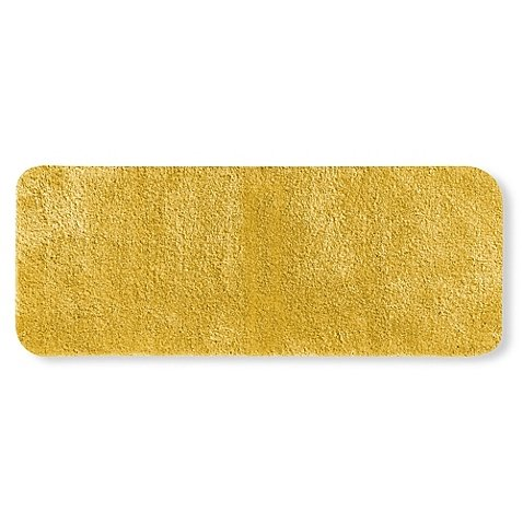 Wamsutta Duet 24-Inch x 60-Inch Bath Rug in Mimosa - Stain & Fade Resistant / Non-skid Latex / Luxuriously Soft & Plush