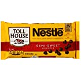 Nestle Toll House Real Semi-Sweet Chocolate Morsels 12 oz (Pack of 24)
