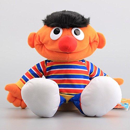Sesame Street Boy Ernie Hand Puppet 14 Inch Toddler Stuffed Plush Kids Toys