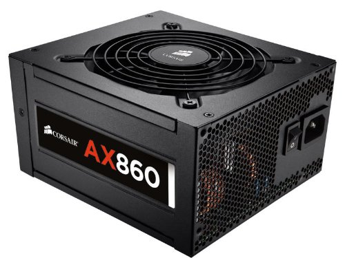 Corsair AX860 860-Watt ATX Power Supply Black CP-9020044-NA