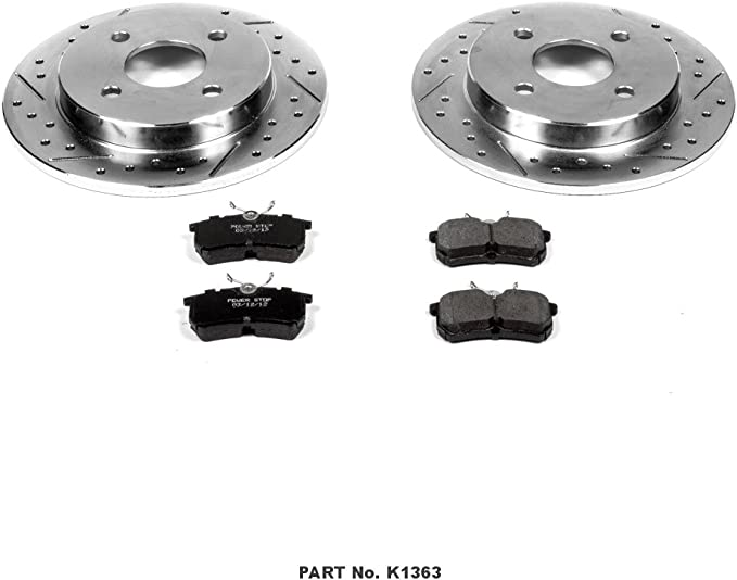 Autospecialty KOE1363 1-Click OE Replacement Brake Kit