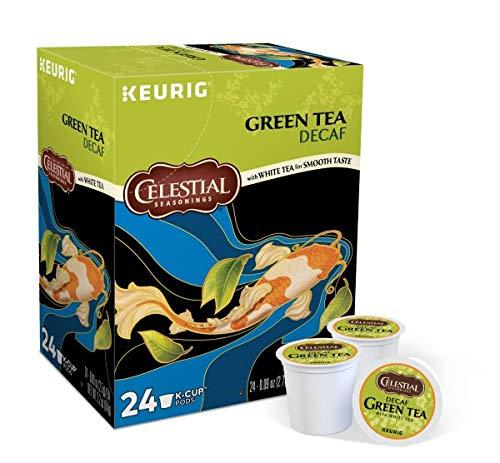 Celestial Seasonings Decaf Green Tea, K-Cup Portion Pack for Keurig K-Cup Brewers, 24-Count (Pack of 2) - Packaging May Vary by Celestial Seasonings (Image #1)