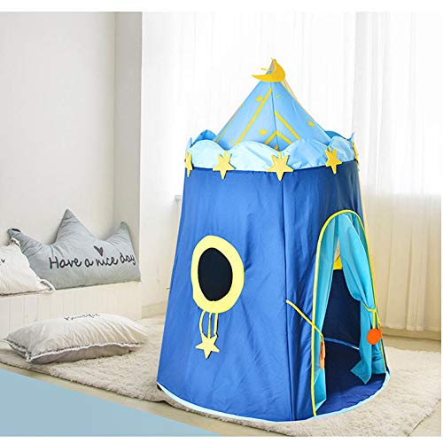 Sport 110 150cm Children's Outdoor Entertainment Yur Pet Mat Blue House Yurts Moon Tent Game Room by Shop Sport (Image #7)